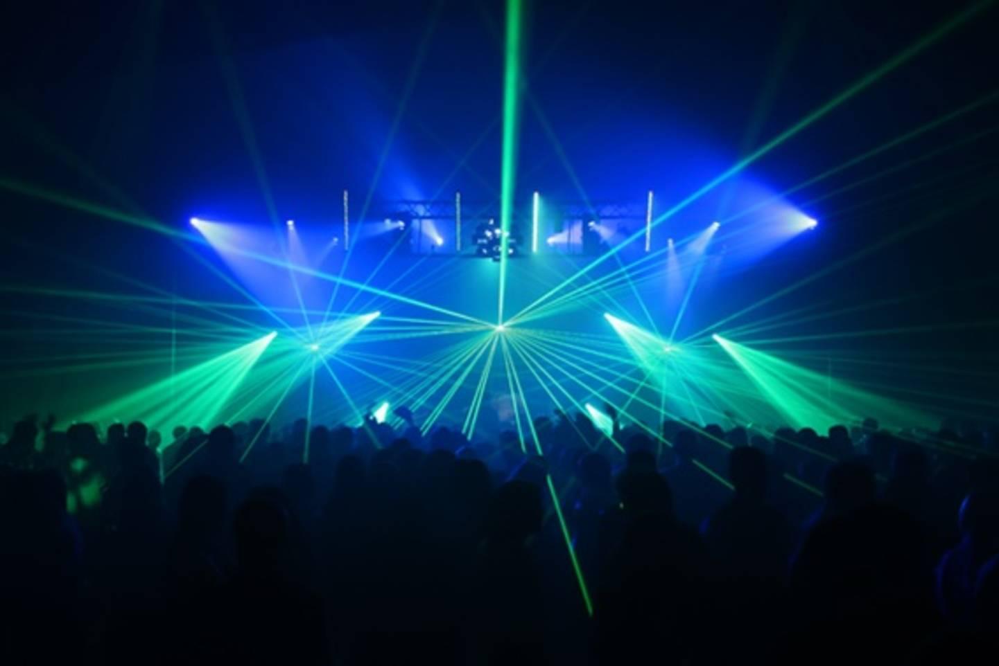 Laser Bühnenshow
