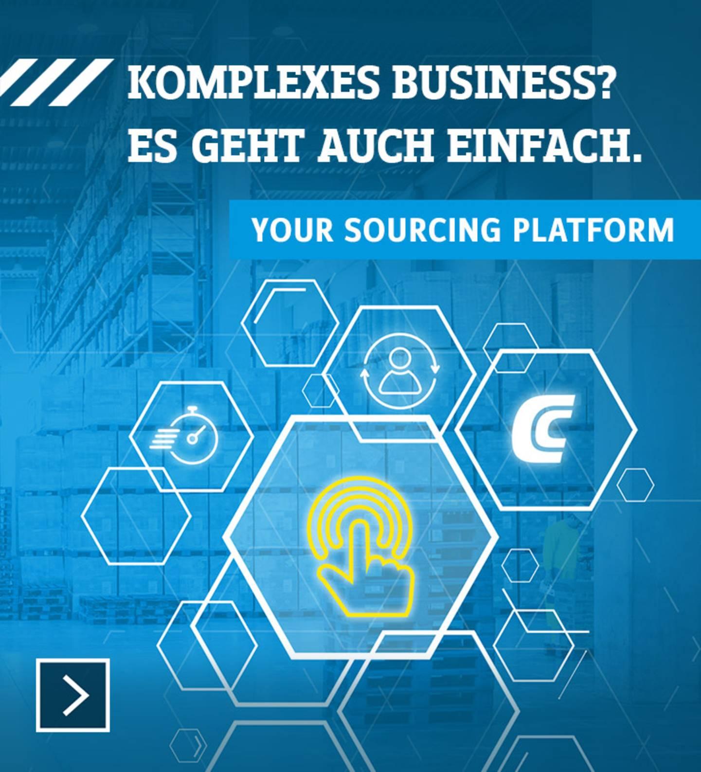 Komplexes Business? Es geht auch einfach. Your Sourcing Platform »