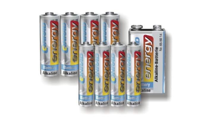 Einweg-Batterien