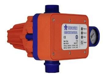 Kompakter und verstärkter Druckschalter mit integrierten Rückschlagventil