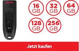 SanDisk Ultra® USB 3.0 Flash-Laufwerk