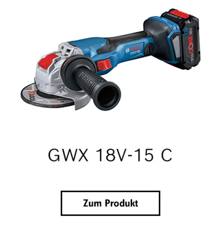 GWX 18V-15 C