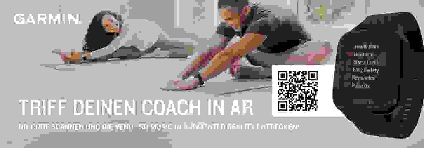 Triff deinen Coach in AR