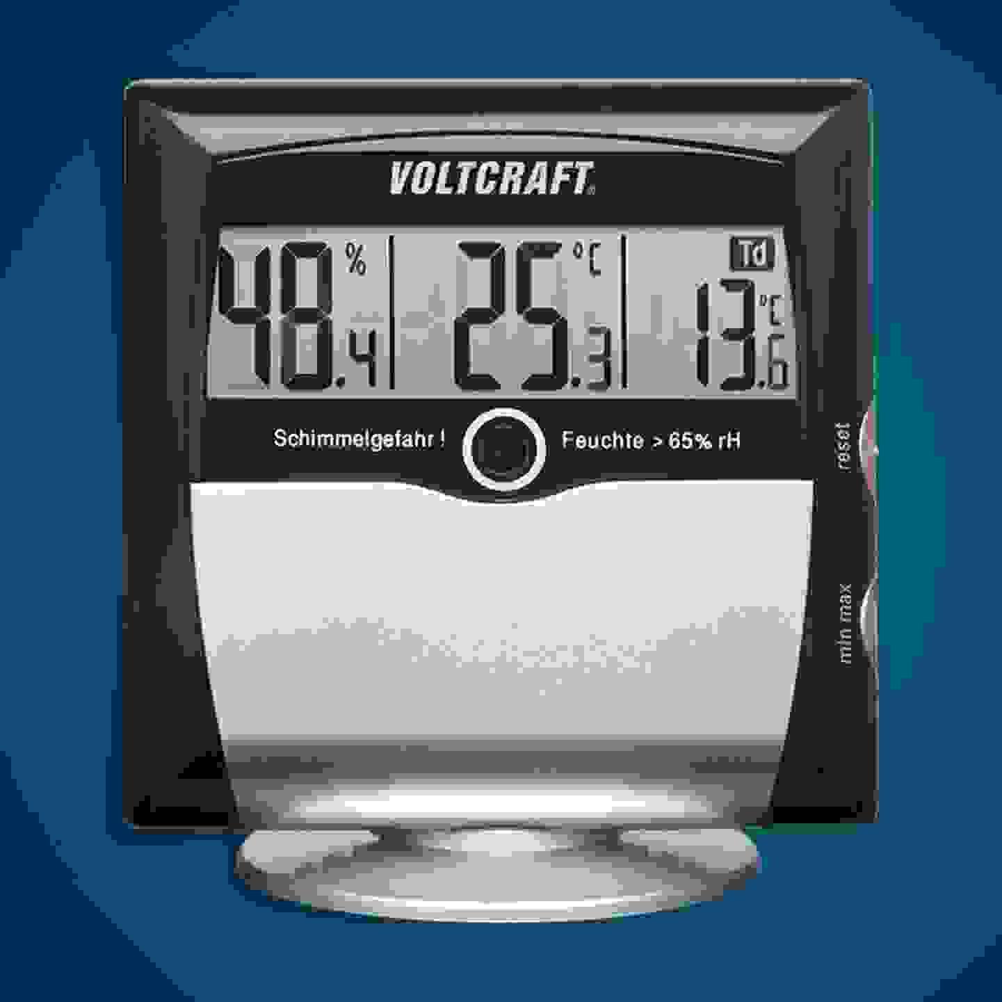 Voltcraft - MS-10 Luftfeuchtemessgerät (Hygrometer) »