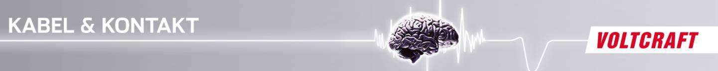 Kabel und Kontakt Header