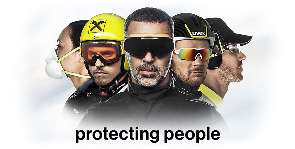 uvex – protecting people