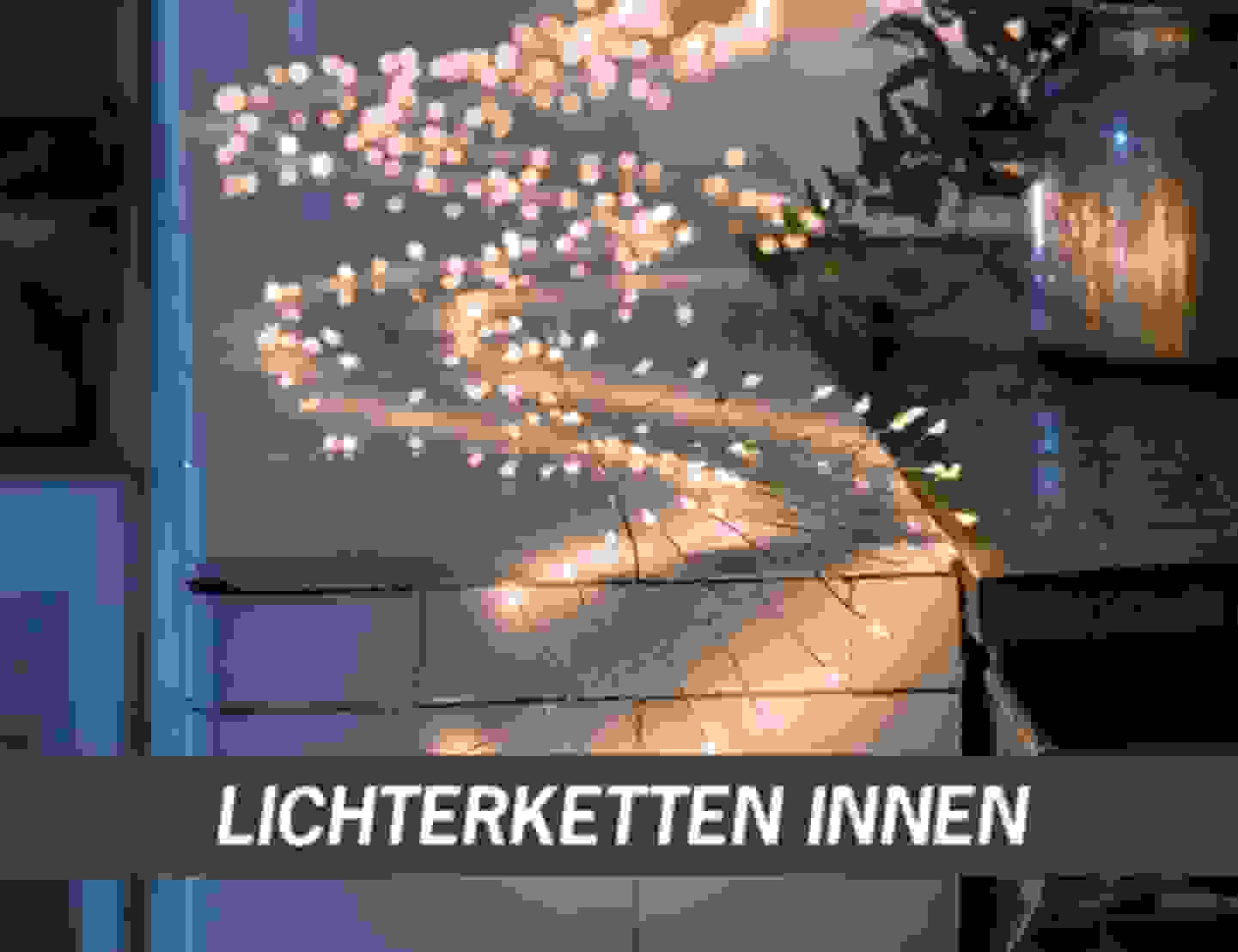 Lichterketten innen