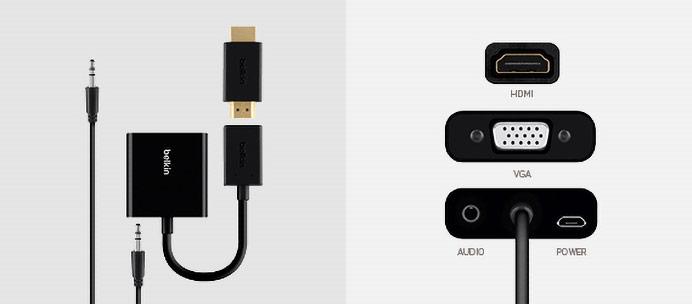 HDMI auf VGA übertragen
