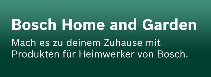 Markenshop Bosch Home and Garden