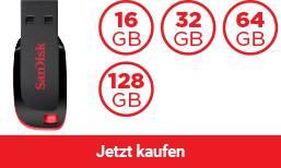 SanDisk® Cruzer Blade™ USB Flash-Laufwerk