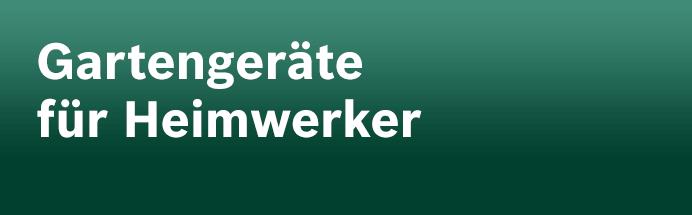 Gartengeräte für Heimwerker