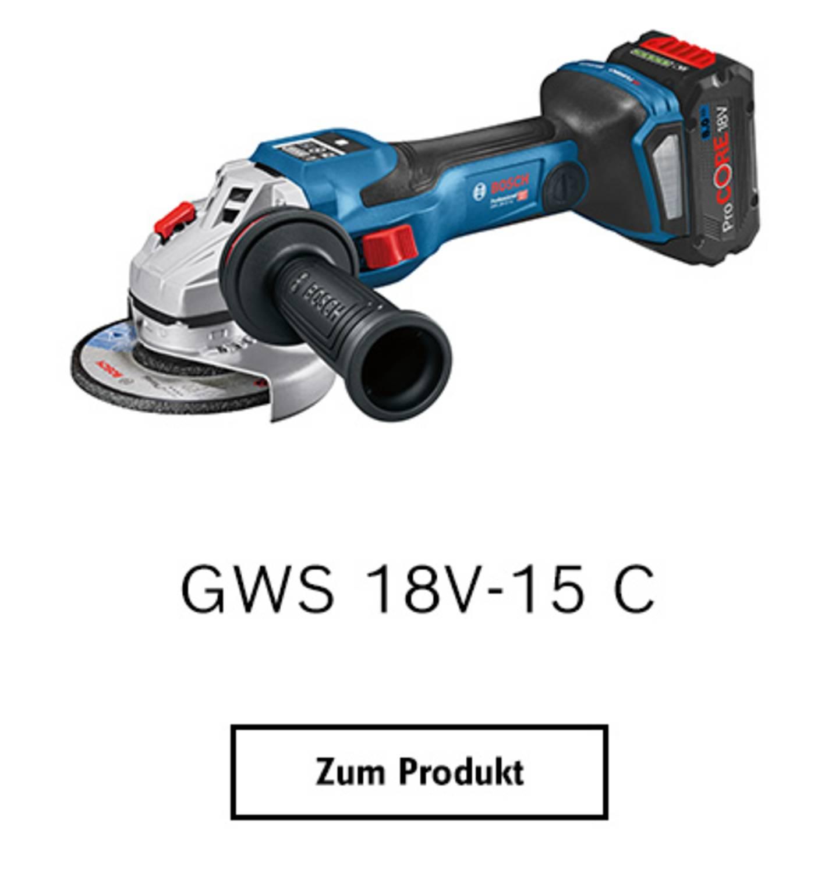 GWS 18V-15 SC