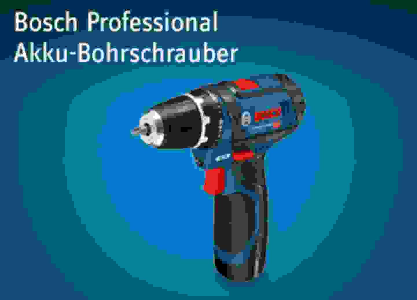 Bosch Akku-Bohrschrauber