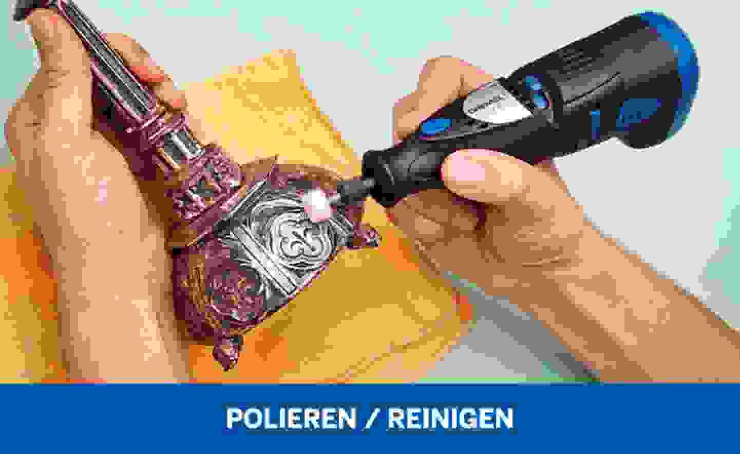 Polieren Reinigen