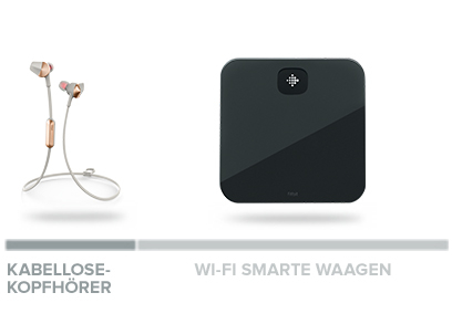 fitbit kabellose Kopfhörer & Wi-Fi Smarte Waage