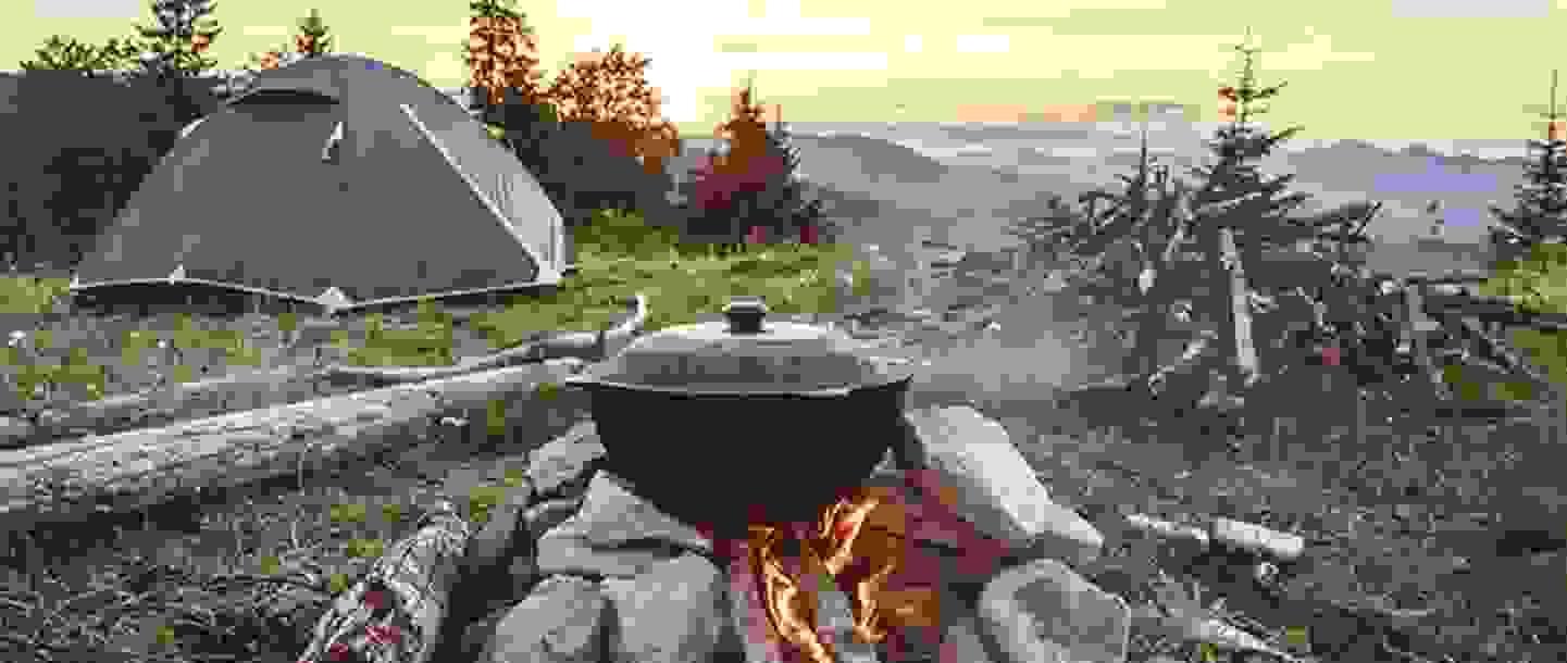 Sommer Aktivität - Lagerfeuerstimmung »