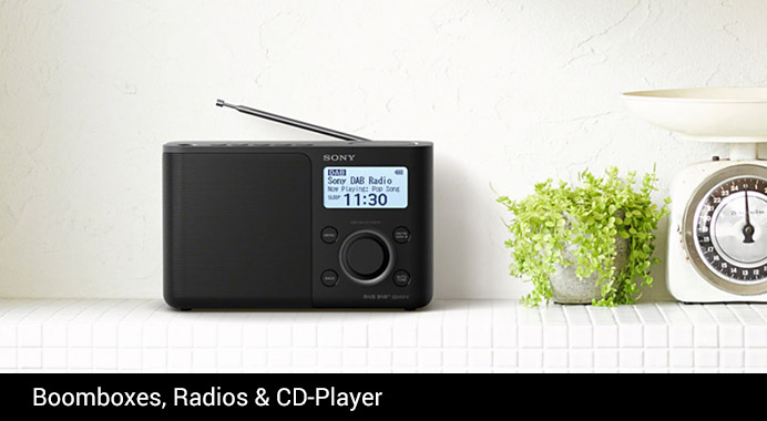 Sony Boomboxes, Radios & CD-Player