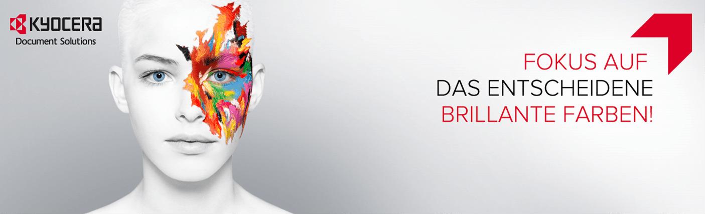 Kyocera – Fokus auf das Entscheidene: brillante Farben!