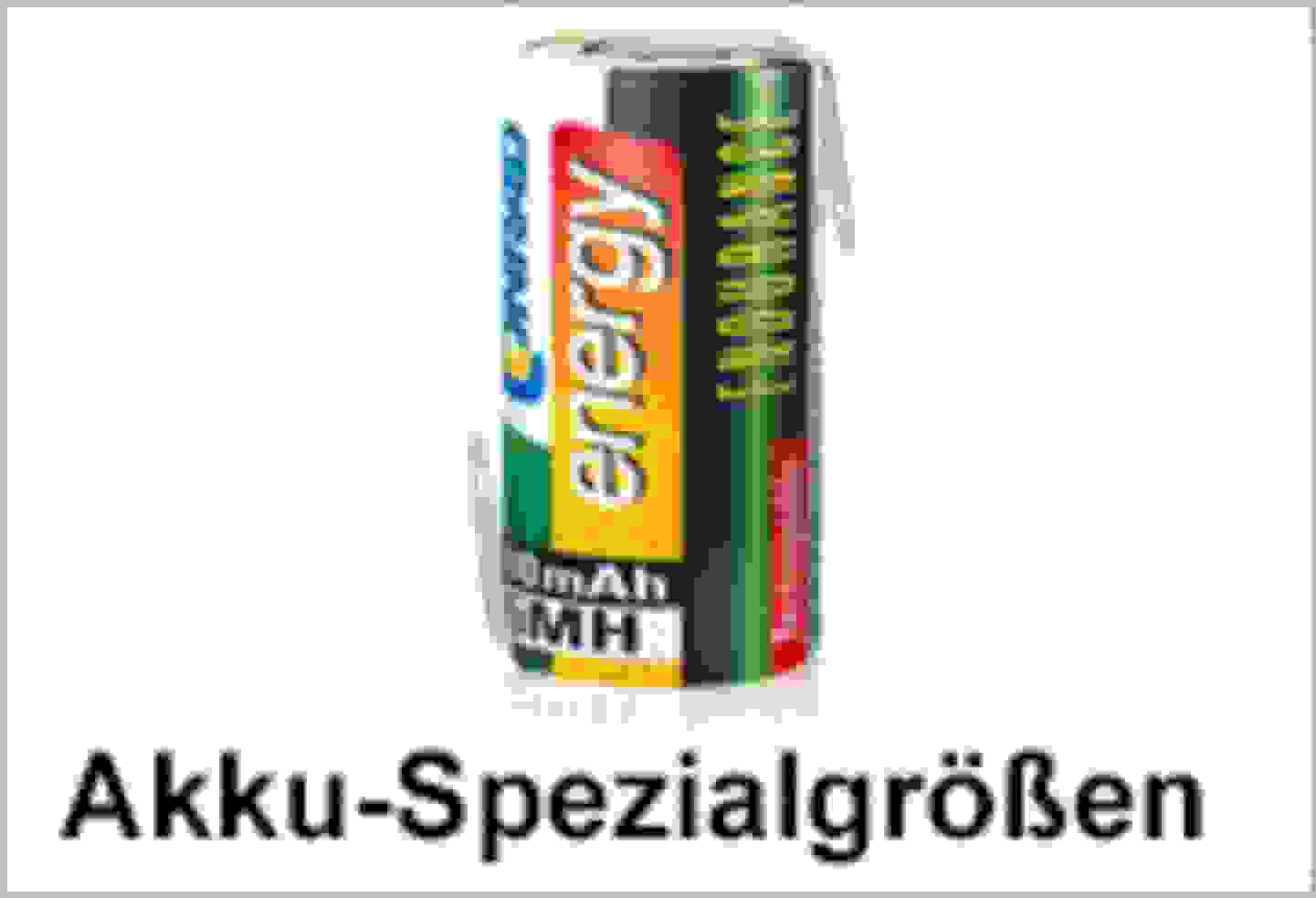 Conrad Energy Akku-Spezialgrößen