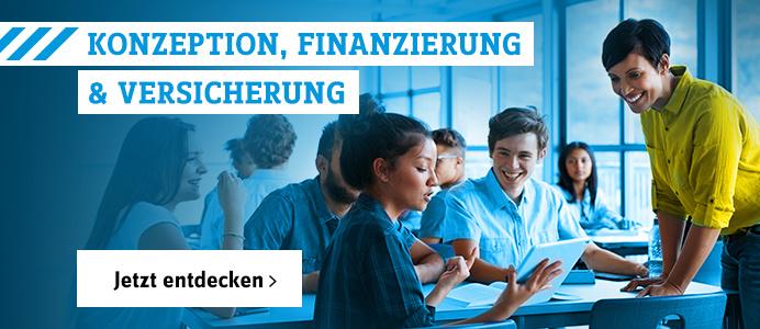 Konzeption, Finanzierung & Versicherung