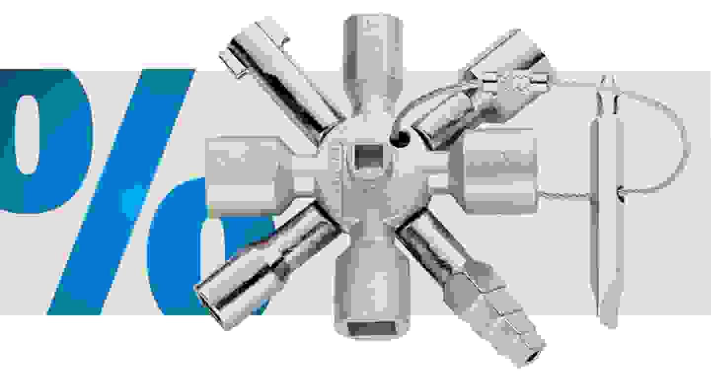 Knipex -  Schaltschrankschlüssel