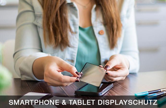 Smartphone- und Tablet-Displayschutz