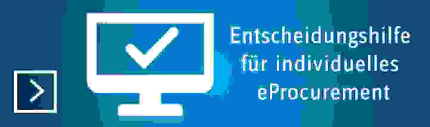 eProcurement-Entscheidungshilfe