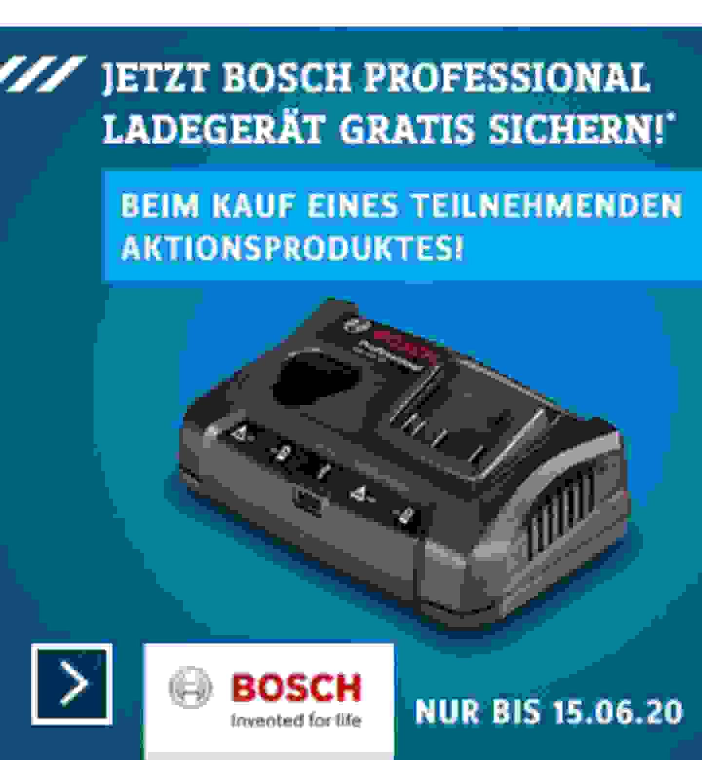 Bosch Akku Aktion