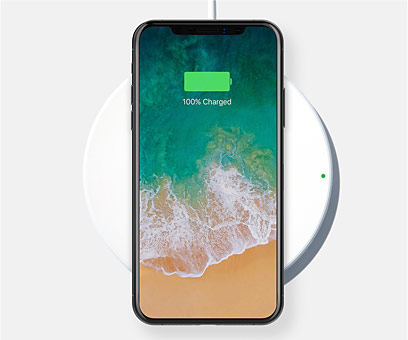 Drahtloses BOOST↑UP™ Ladegerät für iPhone X, iPhone 8 Plus und iPhone 8