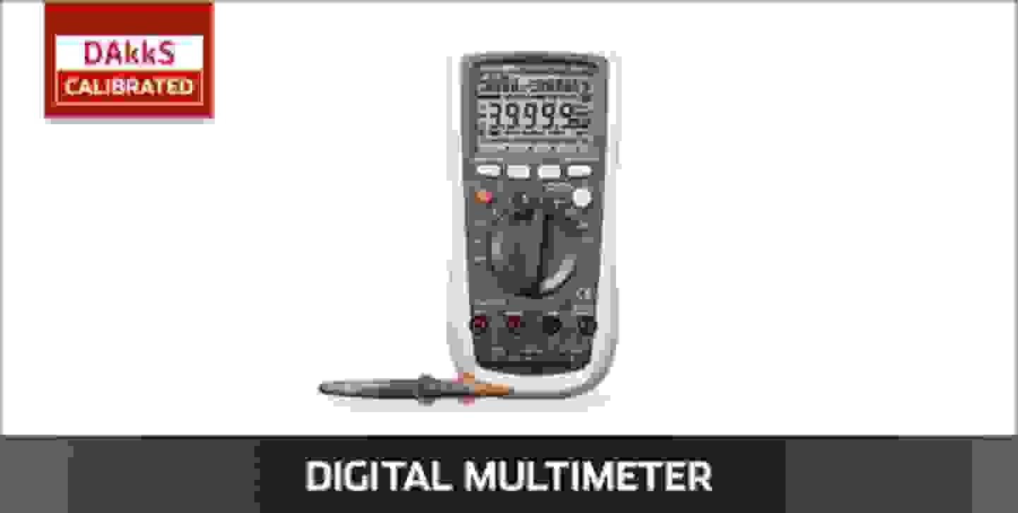 VOLTCRAFT Digitalmultimeter DAkkS kalibriert