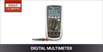 VOLTCRAFT Digitalmultimeter DAkkS kalibriert