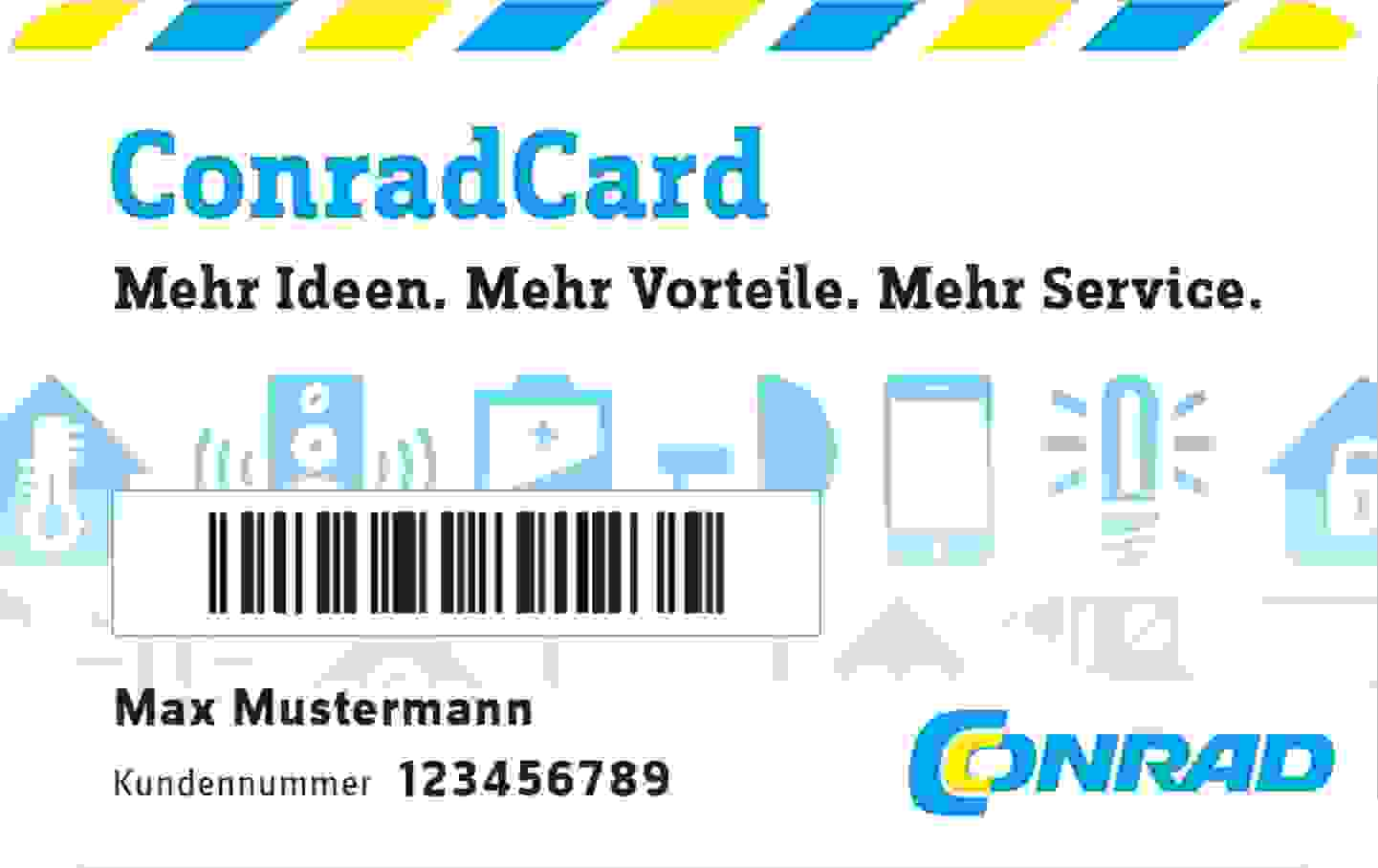 ConradCard jetzt kostenlos anfordern »