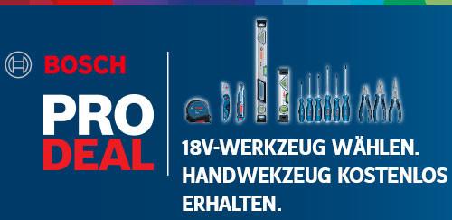 Bosch Pro Deal