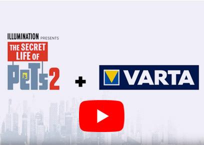 Varta Pets auf YouTube