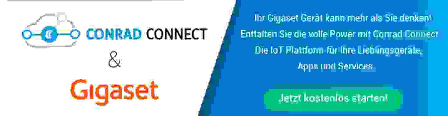 Conrad Connect mit Gigaset verbinden