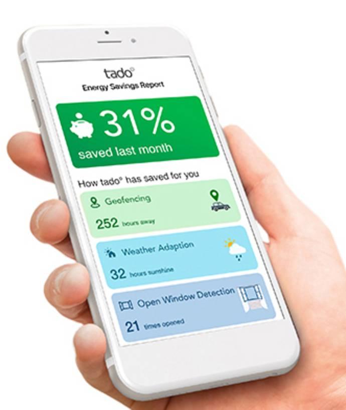 Tado Smart Climate Assistant Energie