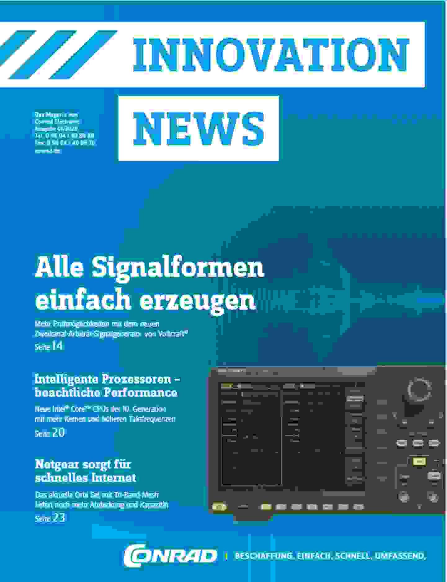 Innovation News 01/2020