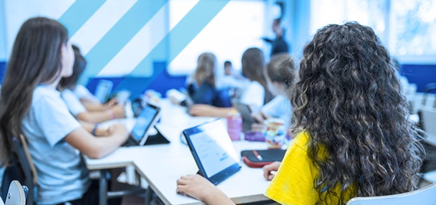 Digitale Schule - Klassenzimmer