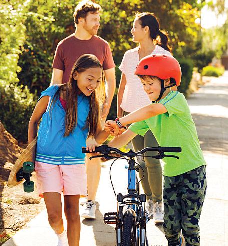 Gemeinsam als Familie gesunde Gewohnheiten festigen