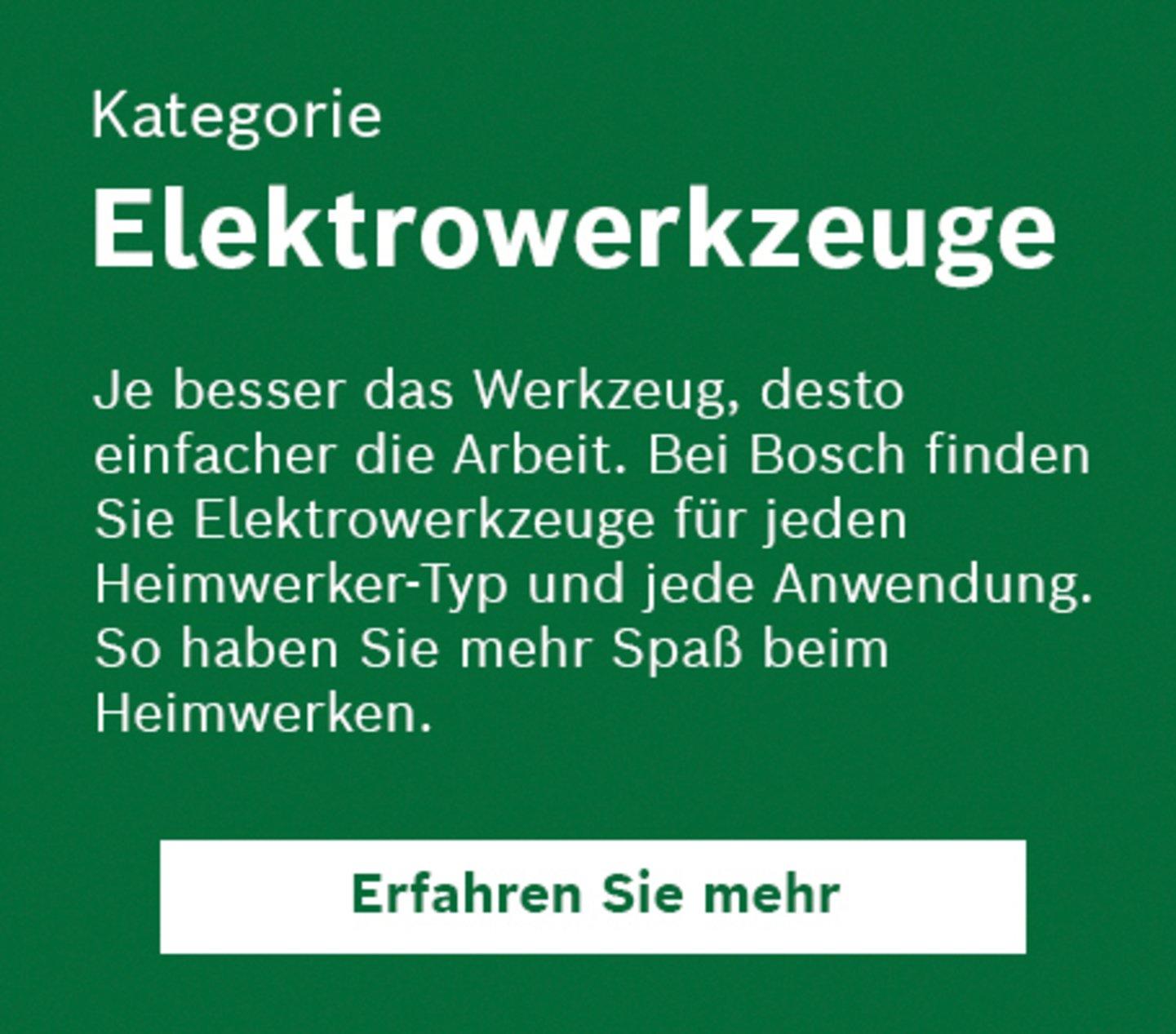 Elektrowerkzeuge