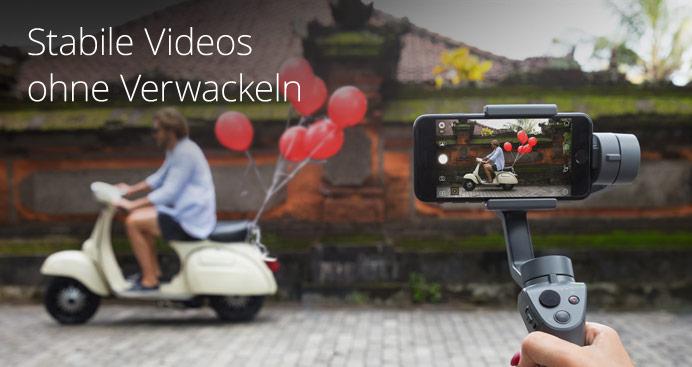 Stabile Videos ohne Verwackeln