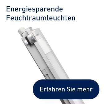 Energiesparende Feuchtraumleuchten