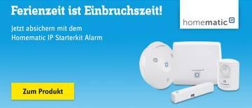 Homematic - IP Starterkit Alarm HmIP-SK7
