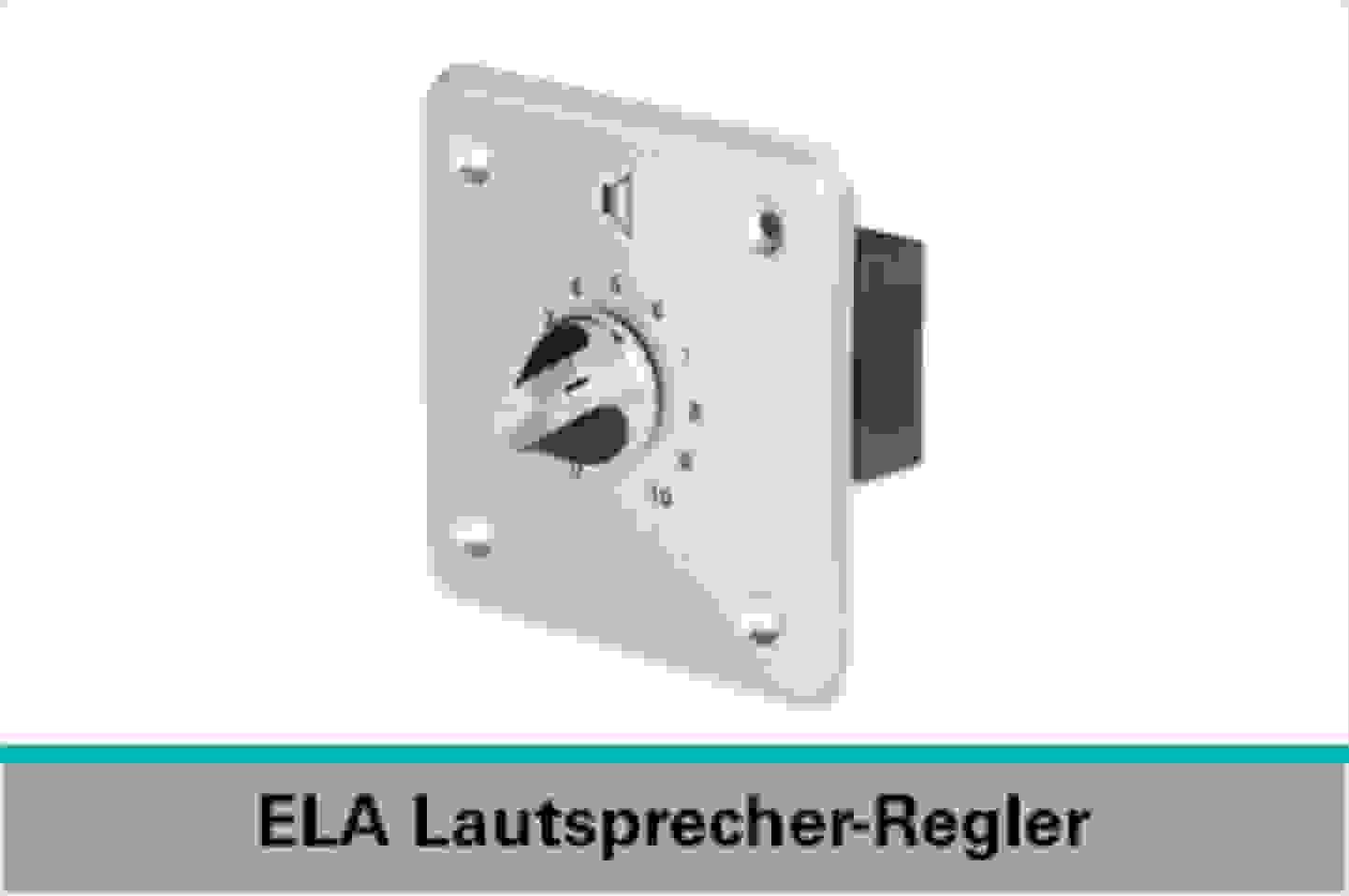 Speaka Professional ELA Lautsprecher-Regler