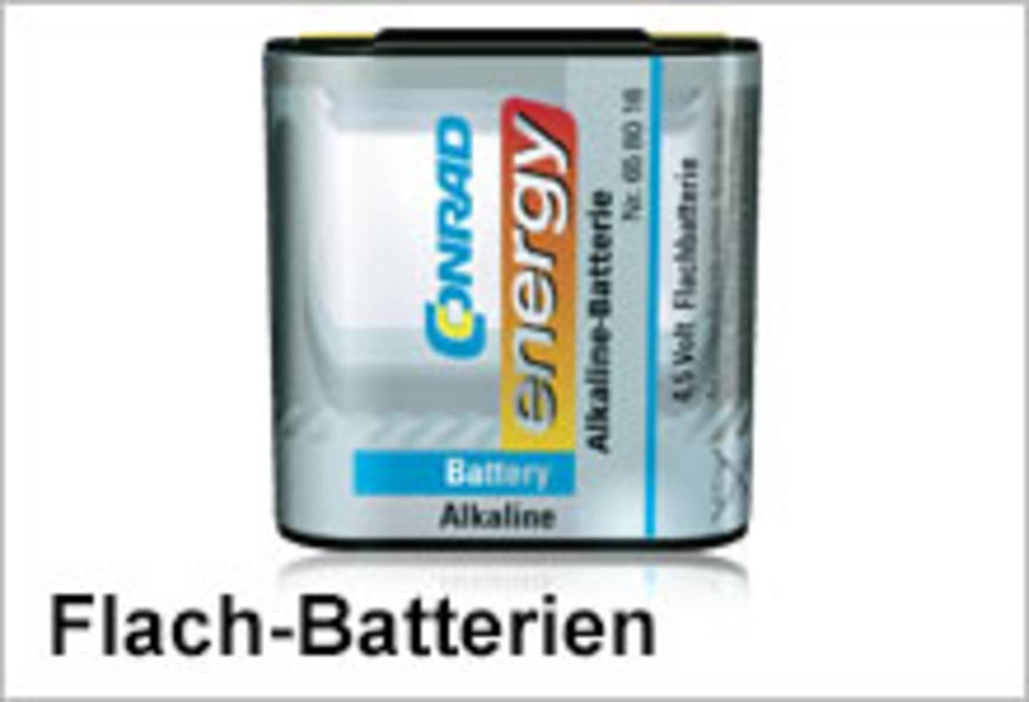 Conrad Energy Flach-Batterien