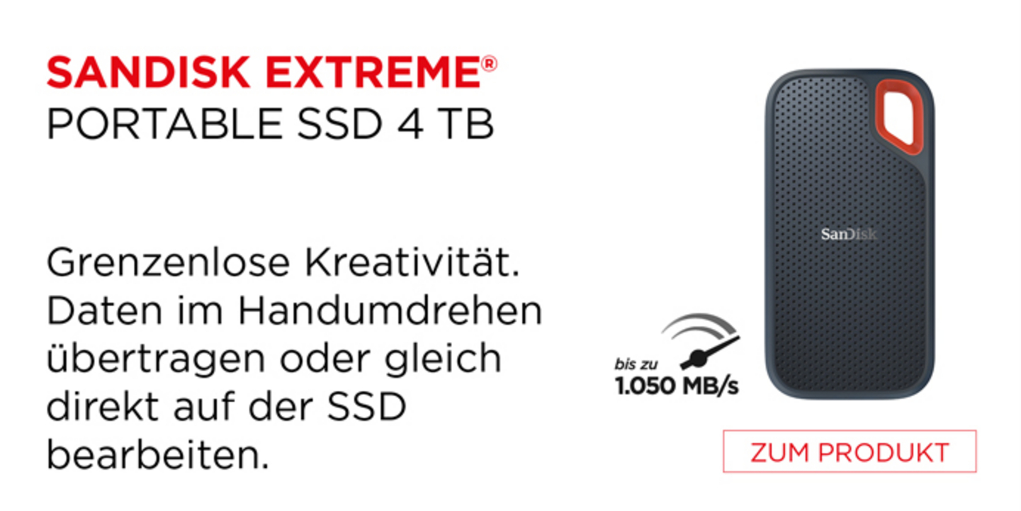 Sandisk Extreme Portable SSd 4 TB