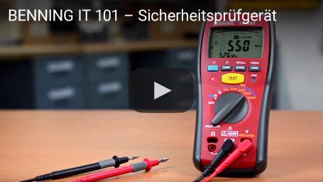 BENNING IT 101 – Sicherheitsprüfgerät