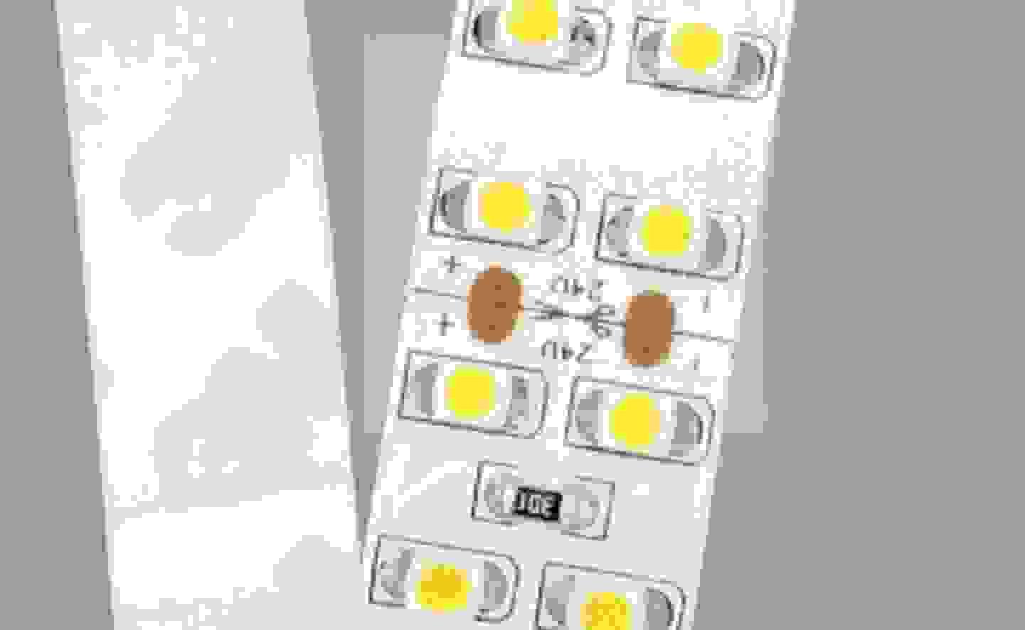 Schnittstelle bei LED-Streifen