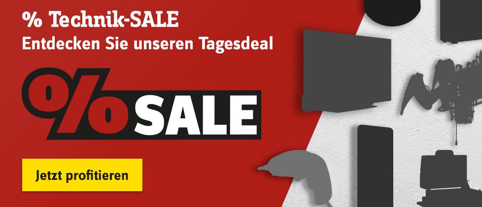 % Technik-SALE – Jetzt profitieren »