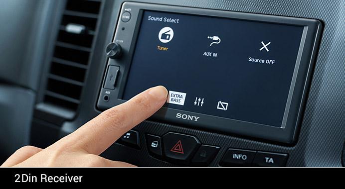 Sony 2Din Receiver